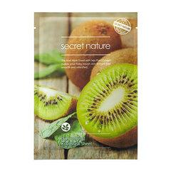 Secret Nature Smoothing Kiwi Mask Sheet - Выравнивающая маска для лица с экстрактом киви