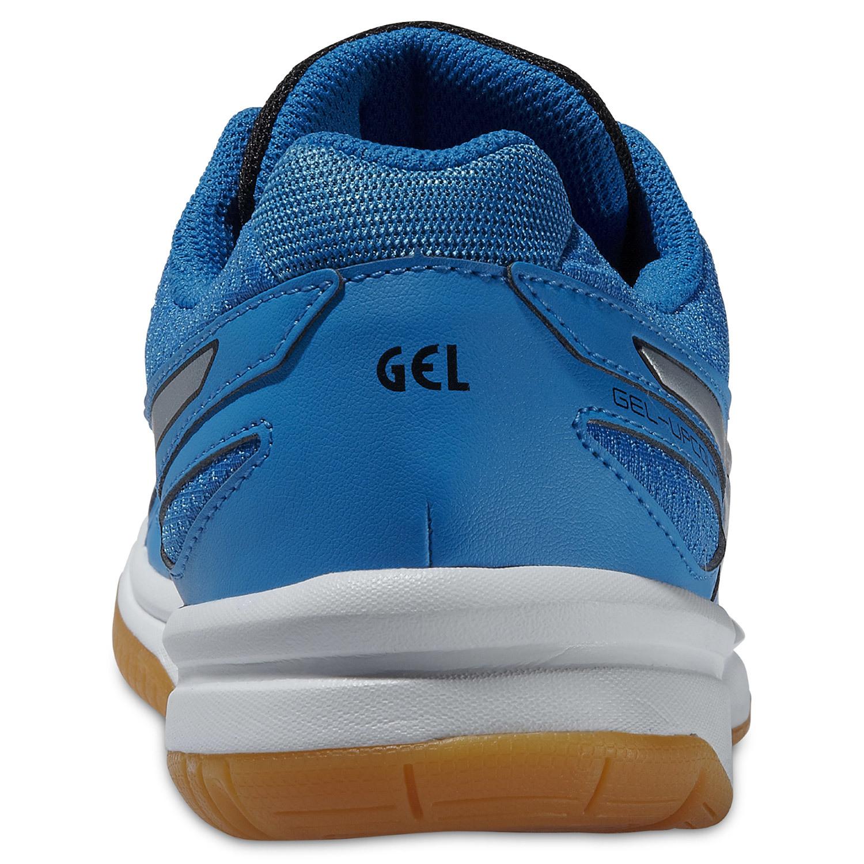Женские волейбольные кроссовки Асикс Gel-Upcourt синие фото