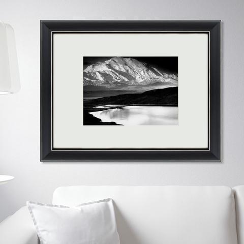 Ансель Адамс - Озеро на Аляске, 1949г