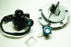Комплект ключей и замков для Yamaha XJR400, XJR1200, YZF600 95-02, YZF1000 97-98