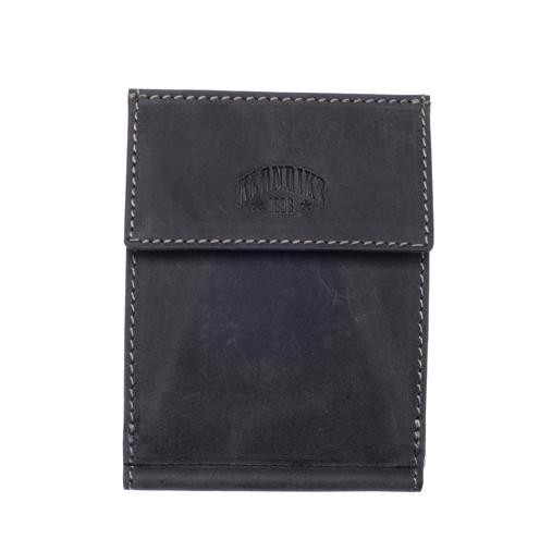 Кожаный бумажник с зажимом для денег Klondike 1896 «Yukon black», Germany
