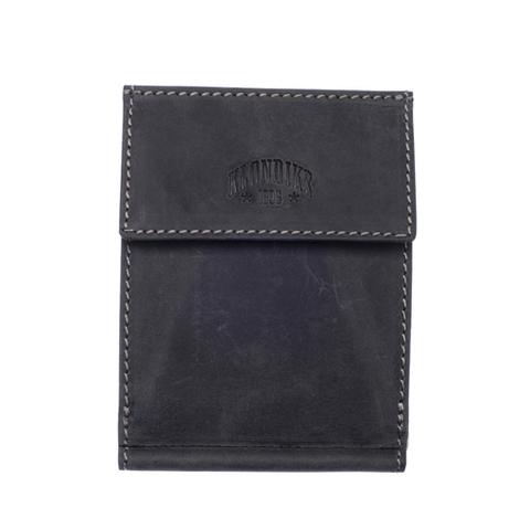 Кожаный бумажник с зажимом для денег Klondike 1896 «Yukon black», Germany, фото 2