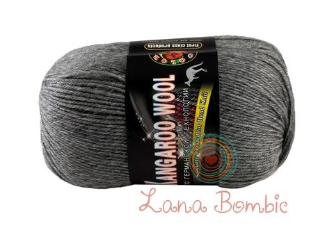 Пряжа Color City Kangaroo Wool серый меланж 29602