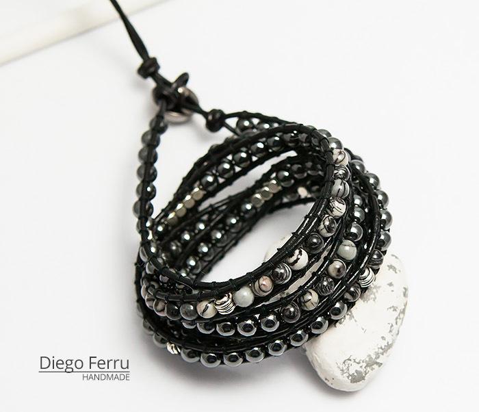 BS754 Крутой браслет «Diego Ferru» в стиле Chan Luu, ручная работы фото 01