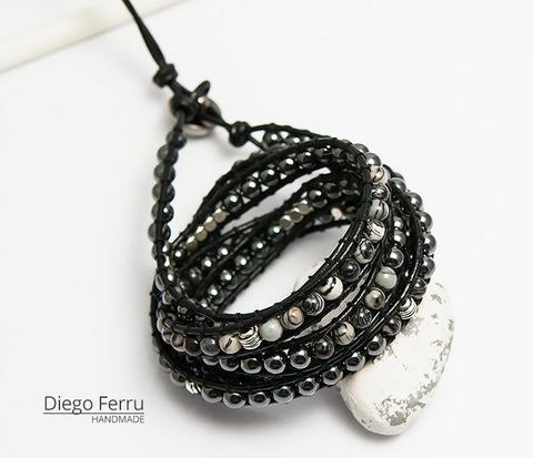Крутой браслет «Diego Ferru» в стиле Chan Luu, ручная работы