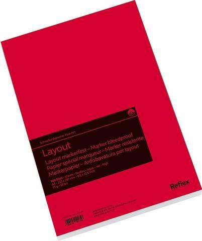 Альбом для маркера Layout 75г/м2 21*29.7см 100л склейка по короткой стороне