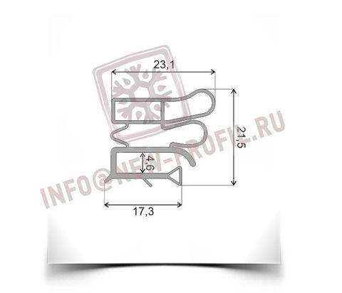 Уплотнитель 50.5*56 см для холодильника Позис Мир 101-8 (морозильная камера) Профиль 012
