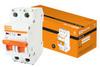 Автоматический выключатель (автомат) 2Р 16А ВА 47-63 TDM