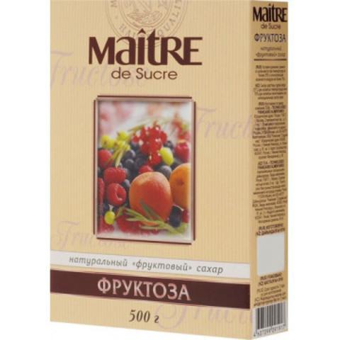Сахар Фруктоза Maitre de Sucre, 500г