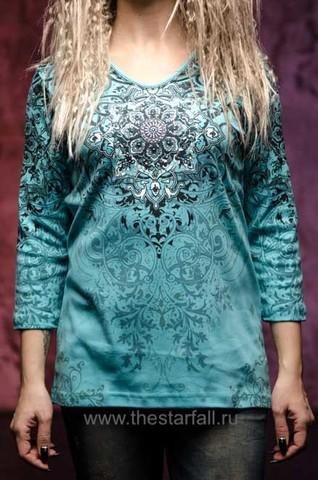 Женский пуловер Madison Cactus Bay. Made in USA