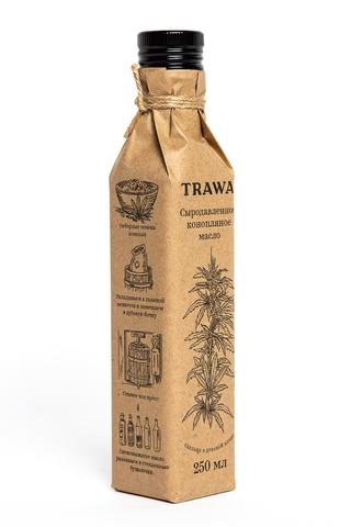 Trawa Масло сыродавленное конопляное 250 мл