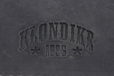 Кожаный бумажник с зажимом для денег Klondike 1896 «Yukon black», Germany, фото 7