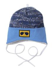 10056-1 шапка для мальчиков, голубая