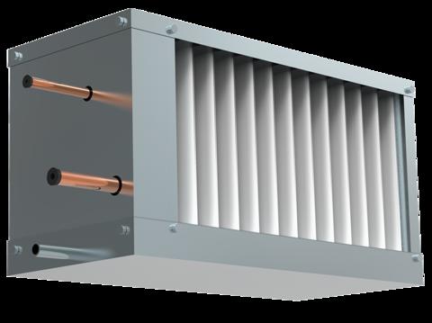 Фреоновый охладитель для прямоугольных каналов WHR-R 400200-3