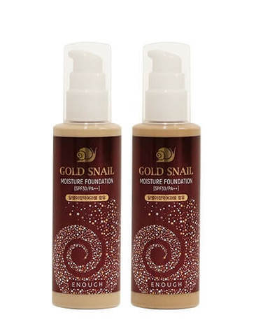 Enough Gold Snail Moisture Foundation SPF30