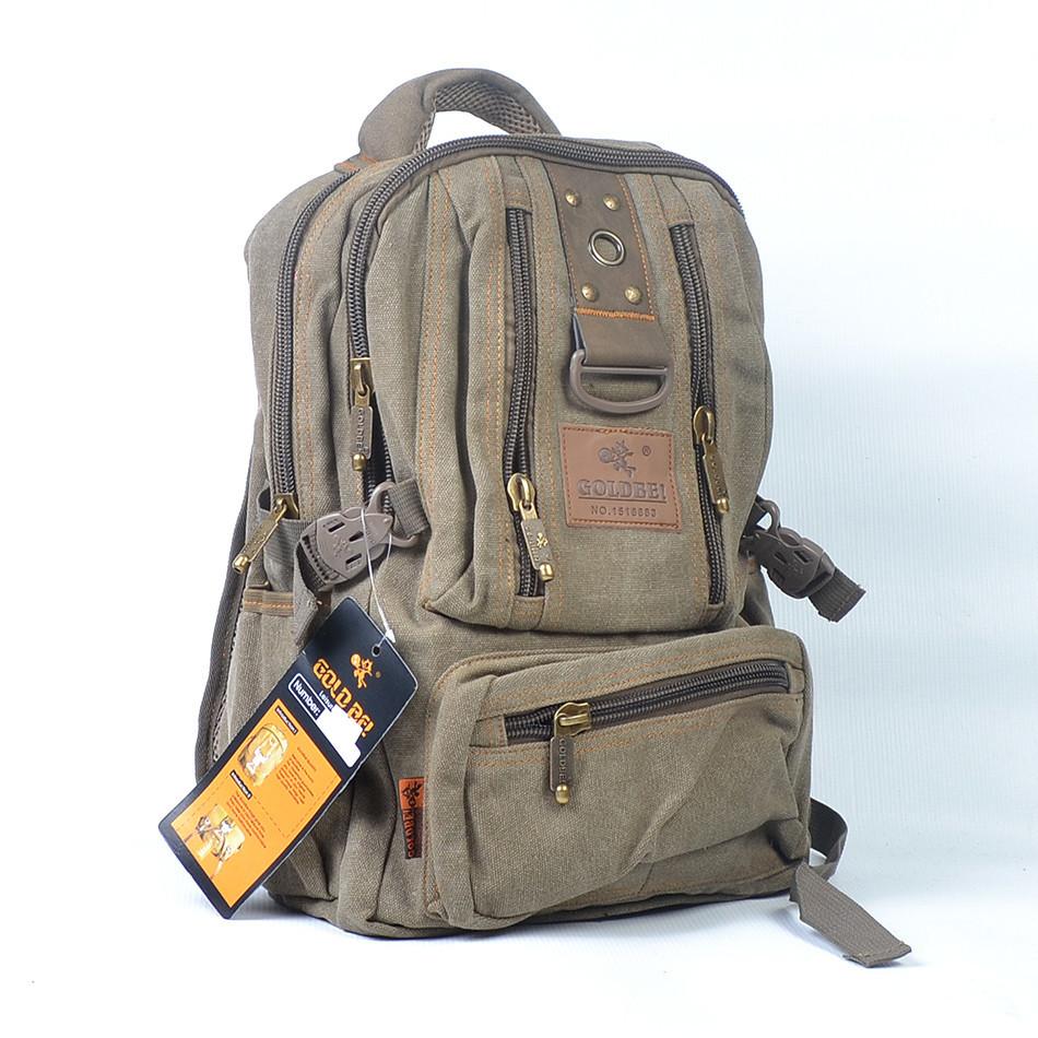 Брезентовые молодежные сумки и рюкзаки рюкзак горный германия