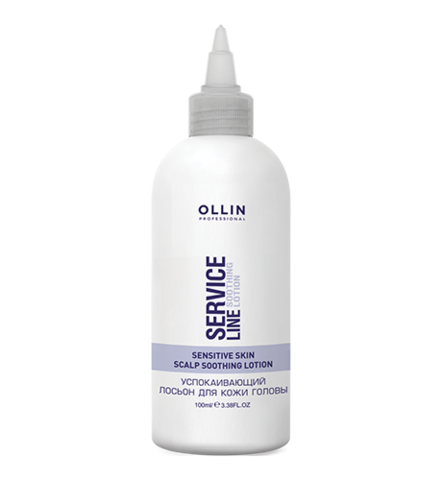 OLLIN service line успокаивающий лосьон для кожи головы 12*2мл/ soothing lotion for head skin
