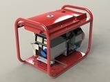 Генератор бензиновый Вепрь АБП 10-Т400/230 ВХ-БСГ - фотография