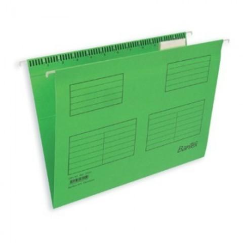 Подвесная регистратура папка BANTEX салатовая А4 25 шт. Дания 100331436/346