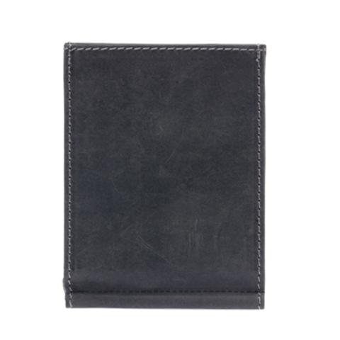Кожаный бумажник с зажимом для денег Klondike 1896 «Yukon black», Germany, фото 6