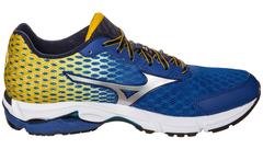 Мужские кроссовки для бега Mizuno Wave Rider 18 (J1GC1503 04) синие