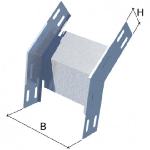 Вертикальный внешний угол 45°