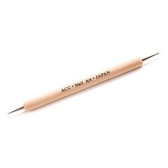 Дотс для ногтей с деревянной ручкой