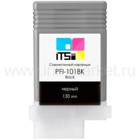 Совместимый картридж PFI-101BK для Canon imagePROGRAF 5000/6000S Black Pigment, 130 мл (М0000004004)