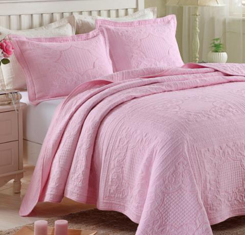 Покрывало Веста розовый