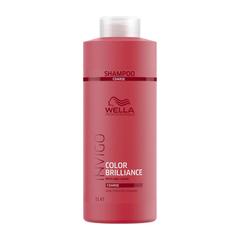 Wella Invigo Color Brilliance Шампунь для защиты цвета окрашенных жестких волос 1000мл