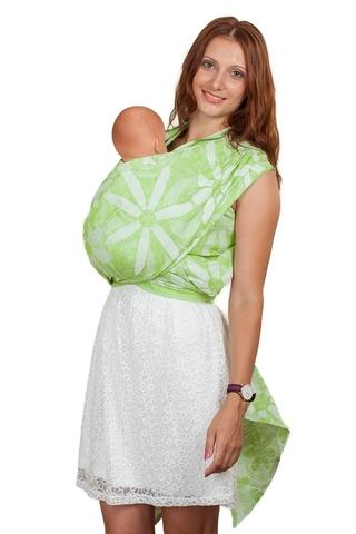 Слинг-шарф 10549 салатовый