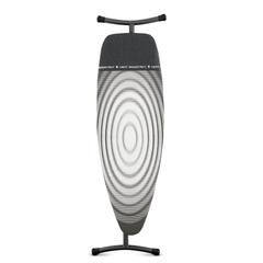 Гладильная доска 135x45 см Brabantia Титановые круги 345647
