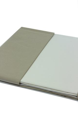 Постельное белье семейное Caleffi Bicolor карамель