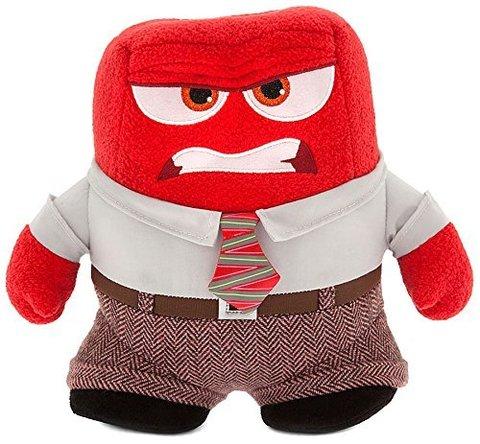 Мягкая игрушка Гнев из мультфильма