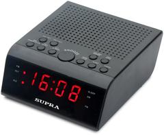 Радиочасы SUPRA SA-44FM Black/Red