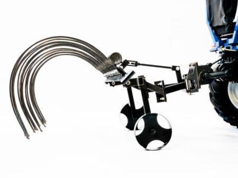 Грабли поперечные Скаут PL-1400 для минитрактора и мотоблока