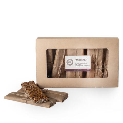 Козинаки без сахара домашние, из подсолнечника, 5-7 пластин, 200 г