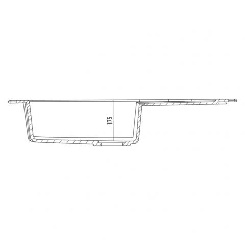 Мойка для кухни Kuppersberg GRANDA 1B1D SAND