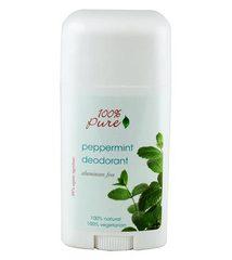 Органический дезодорант Мята, 100% Pure