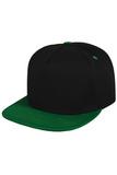 Кепка черная с зеленым козырьком фото