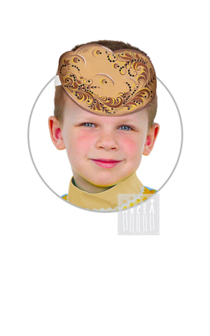 Фото Головной убор - маска Картошка с росписью рисунок Маски для детского сада: для театрализованных и подвижных игр. Эти уникальные  маски ободки станут незаменимым, а подчас - и единственным элементом костюма!