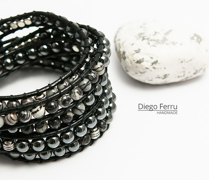BS754 Крутой браслет «Diego Ferru» в стиле Chan Luu, ручная работы фото 03