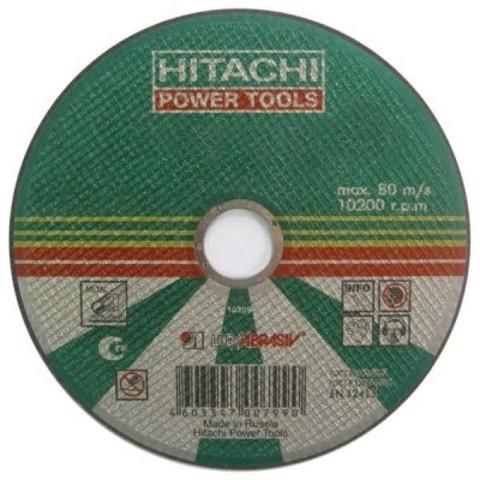 Диск отрезной по металлу А24,14А 180х2,5х22,2 Hitachi HTC-18025HR