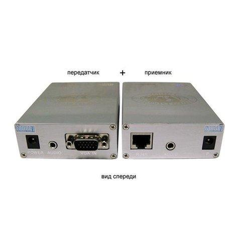 Комплект передачи VGA  по витой паре TA-V/4+RA-V/4