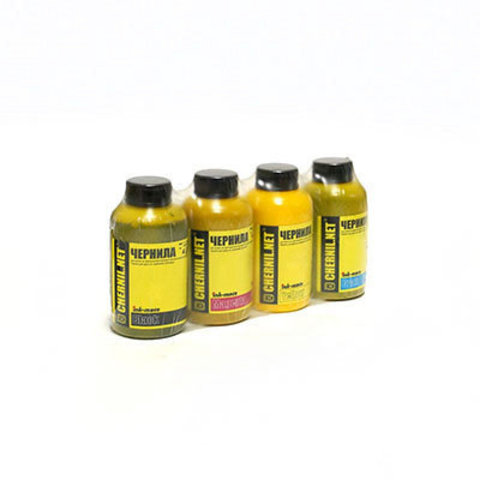 Комплект пигментных чернил Ink-Mate EIM-143 Pigment DuraBrite. 4 x 100 мл.