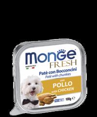 Monge Dog fresh влажный корм для собак с курицей 100гр.