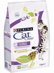 Корм для кошек, Purina Cat Chow Special Care Hairball Control, для контроля образования комков шерсти