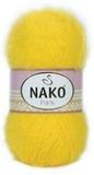 Пряжа Nako Paris 11872 ярко-желтый
