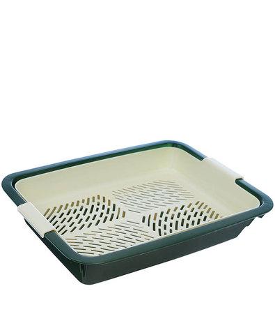 Dogman туалет для кошек с сеткой 350x250x5 малый