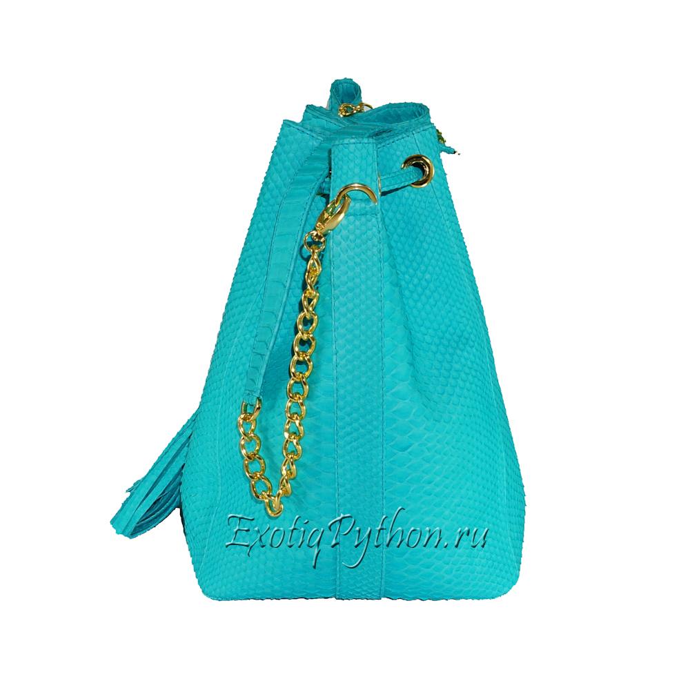 Рюкзак из кожи питона BG-204